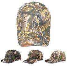 Camouflage Hunting Caps Casual Summer Beach Baseball Cap Outdoor Sport Snapback Hiking Hat Tactical Military Camo Cap For Men цена в Москве и Питере
