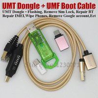 2019 New umt dongle pro UMT Key + UMF ALL Boot Cable for Samsung Huawei LG ZTE Alcatel Software Repair and Unlocking