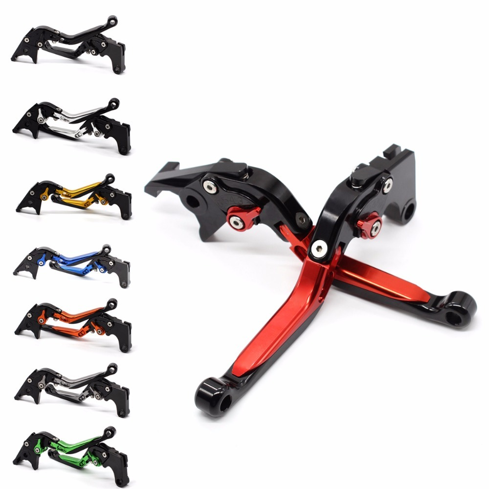 FX CNC Motorcycles Folding Extendable Brake Clutch Levers Aluminum Adjustable For Yamaha FZS 600 S FAZER TDM 900 2002 - 2003 bxmoto adjustable brake clutch levers set for yamaha fz1 fazer 2001 2005 2006 2015 motorcycle cnc aluminum brake levers protect