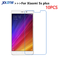 10pcs/lot Tempered Glass For Xiaomi 5s plus 5Splus xiao mi5S phone Screen protective 5.15