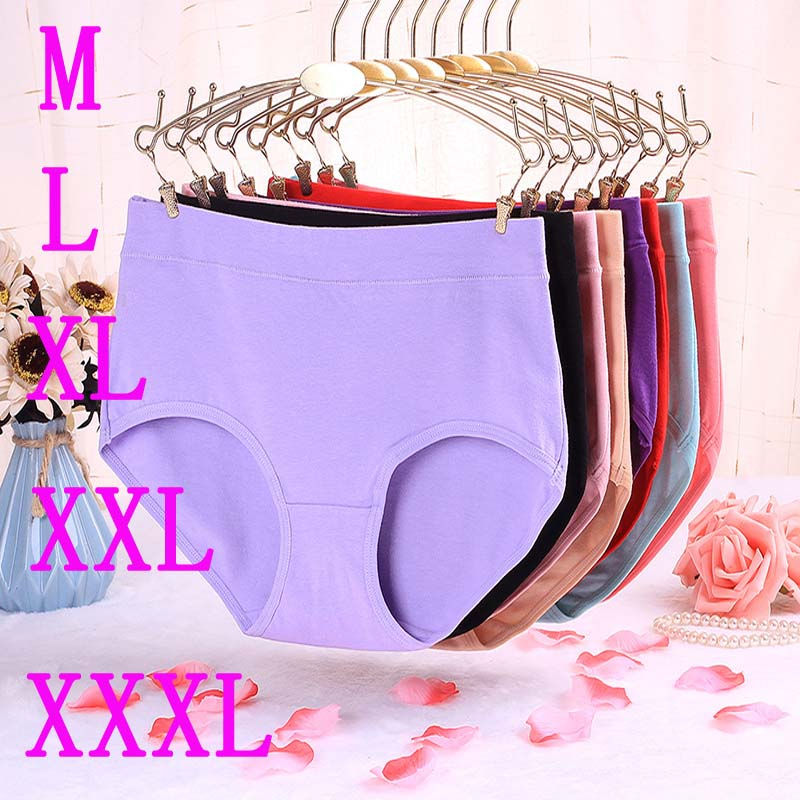 8XL Underwear Women   Panties   Cotton Shorts Breifs Sexy Lingeries Female Plus Size   Panties   For Woman Tanga Underpants   Panty   Ladies