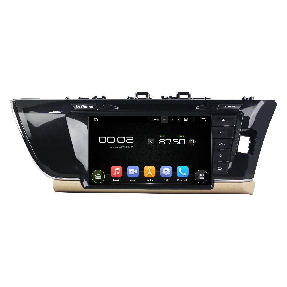 otojeta car dvd player for toyota COROLLA 2015 9 R octa core android 6.0 2GB RAM 32GB ROM stereo BT/radio/dvr/obd2/tpms/camera