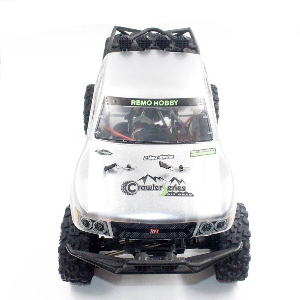 Remo 1093-SJ 1/10 2.4 ghz 550 Brossé RC Voiture Off-road Truck Rock Crawler RTR Automatique Véhicule Jouets De Voiture pour Enfants Cadeau - 3