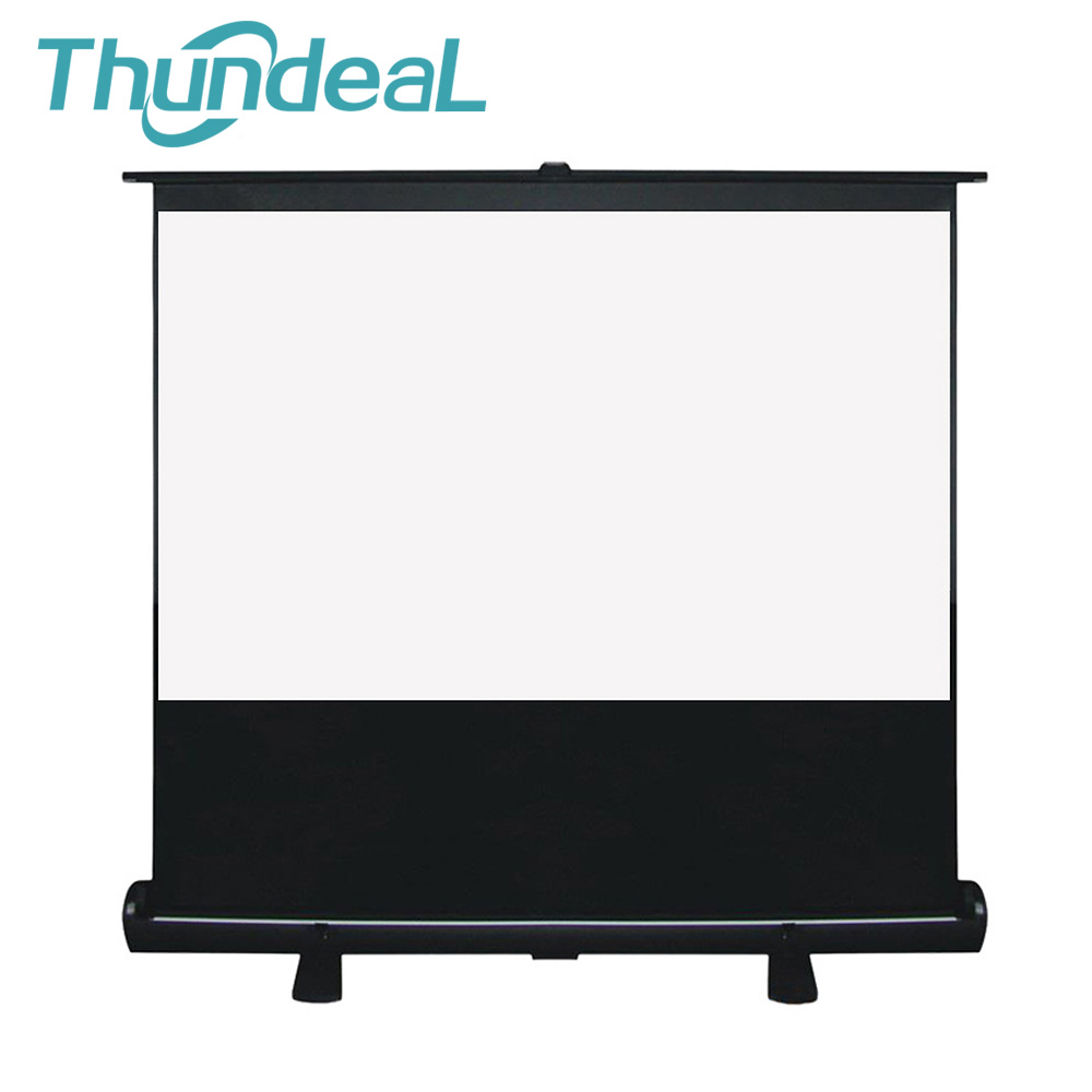 60 inch 4:3 Fixed Projector Screen Assembling Portable Floor Up Portable Projection Screen for DLP LED LCD HD Mini Projector authentic 72 inch 4 3 stents curtain projector screen projector screen projection screen projection screen