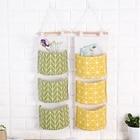 waterproof storage hanging bag hanging multi-storey Storage Box Desk Organizer Folding Jewelry Cosmetic Makeup Box