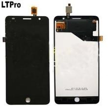 LTPro Mejor Trabajo Negro Pantalla LCD de Pantalla Táctil Asamblea Digitalizador Para Alcatel OneTouch Pop Star 4G OT5070 5070 5070D partes