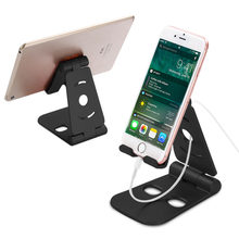 Mini Foldable Phone Holder Office Table Stand 270 Degree Rotate Anti Slide  Mount For IPhone