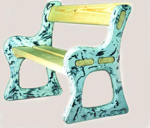 Bench Plastic Molds For Concrete Quot Benches Quot For Garden
