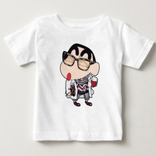 Hot sale Crayon Shin Chan That Look T Shirt Funny Classic Anime Design T-shirt Fashion Novelty Style Tshirt boy and girl shirt M british style old tree and single wolf pattern t shirt for men m