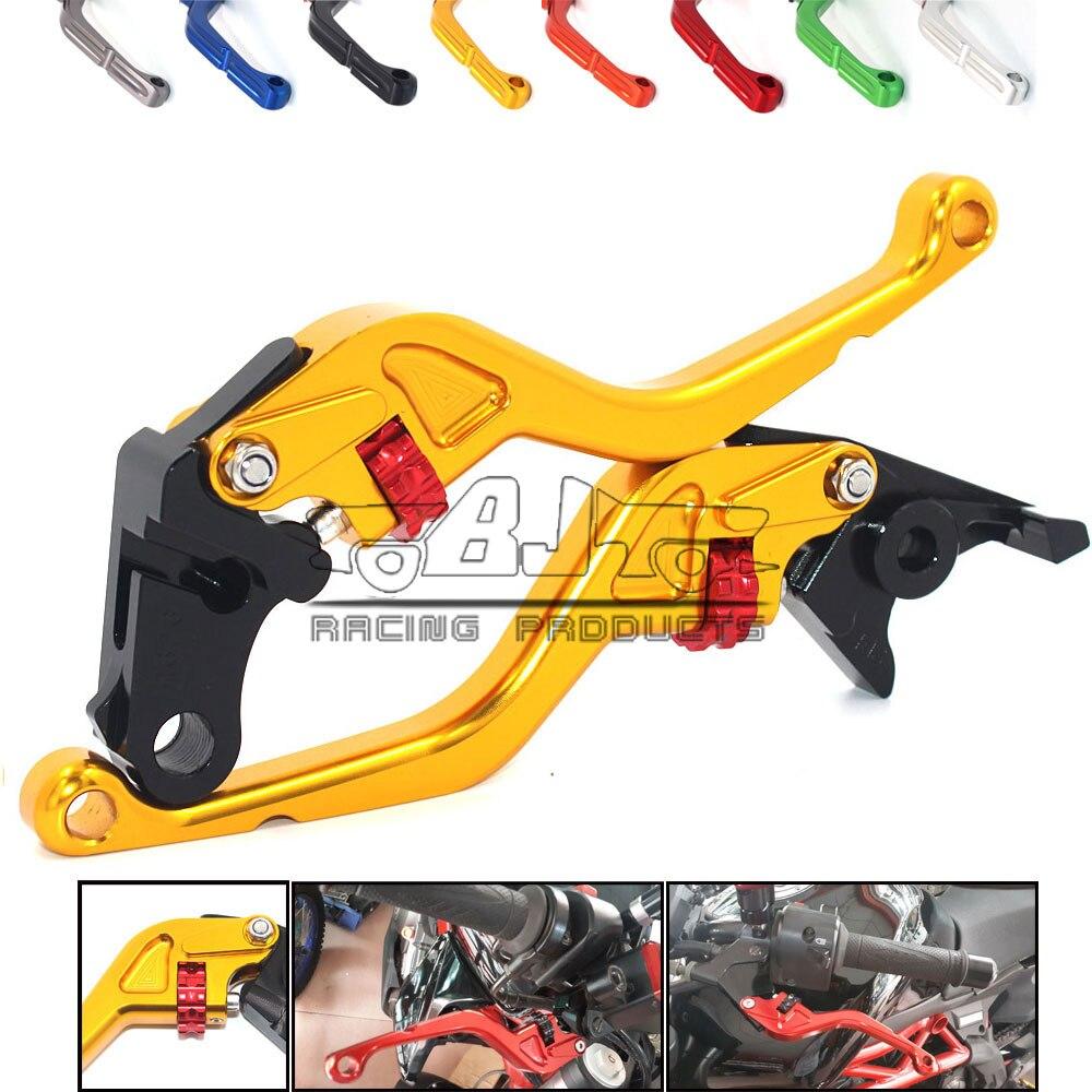 Bjmoto Motorcycle CNC Adjustable Brake Clutch Shorty Levers For Honda CBR250R CBR300R CB300F CB300FA CBR500R CB500F CB500X GROM k1x k1x shorty crew jersey