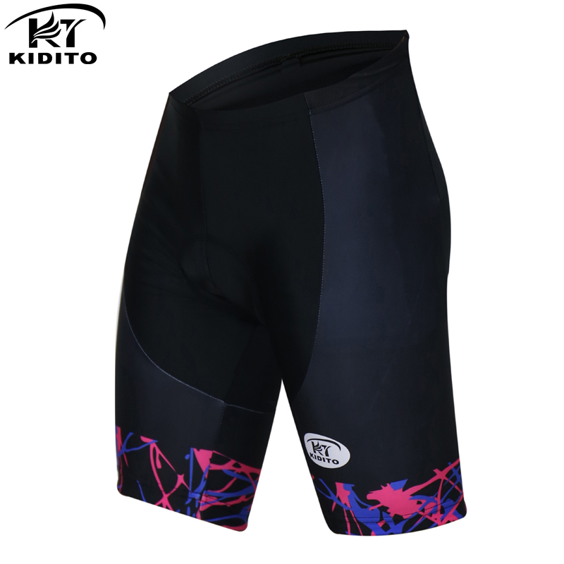 KIDITOKT Pro 100% Lycra Cycling Relax fine Shorts With Bicycle 3D Coolmax Pad Riding Comfortable Bike Shorts Cycling mtb for Men