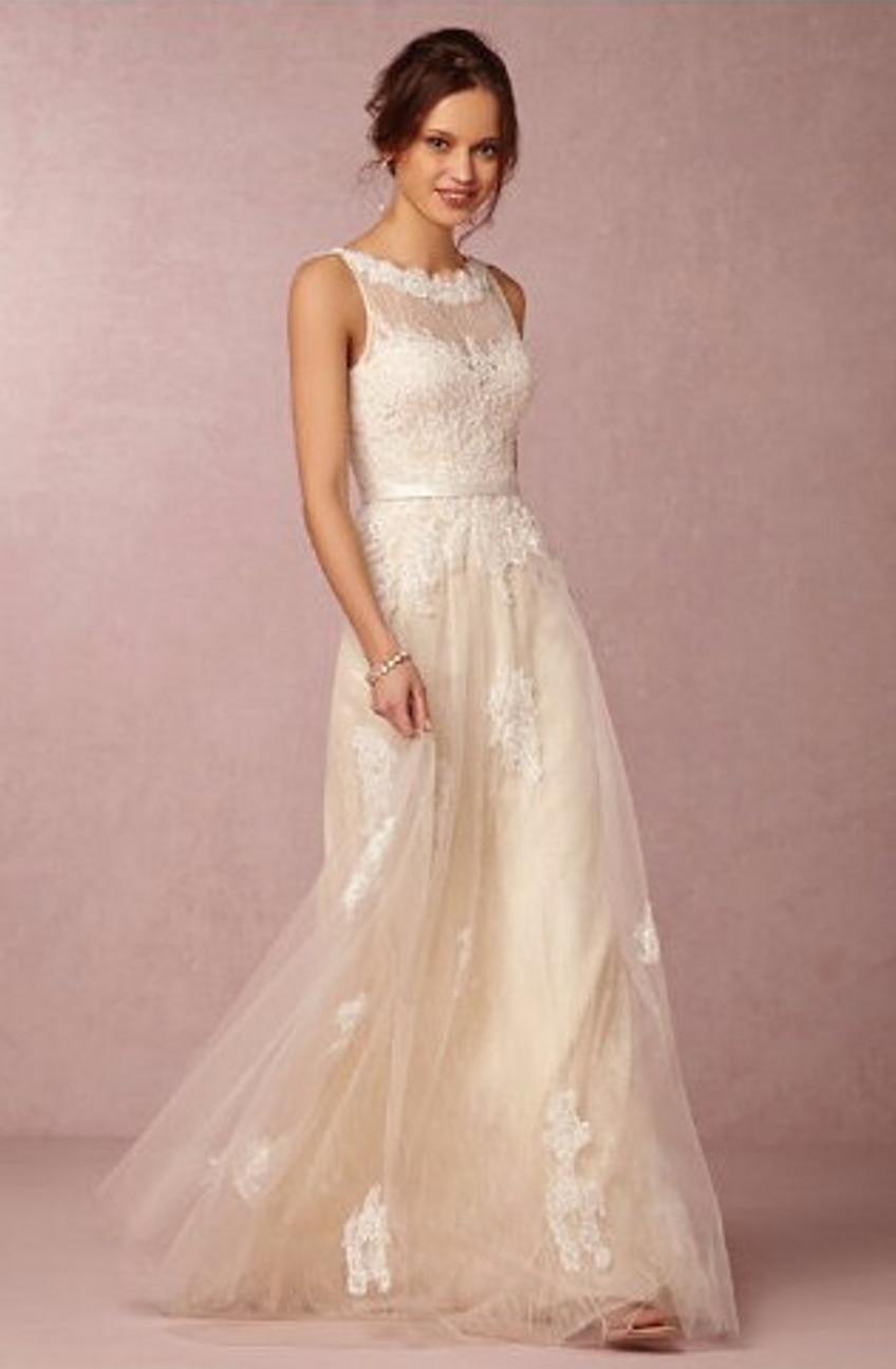 De encaje sin espalda bohe bohemio vestidos 2015 Sexy Vintage ...