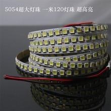 1 м/2 м/3 м/4 м/5 м 5054 Светодиодная лента Диодная лента DC 12 В 600 светодиодный s Высокий люмен Ультраяркий 5050 обновленная версия светодиодный свет ленты