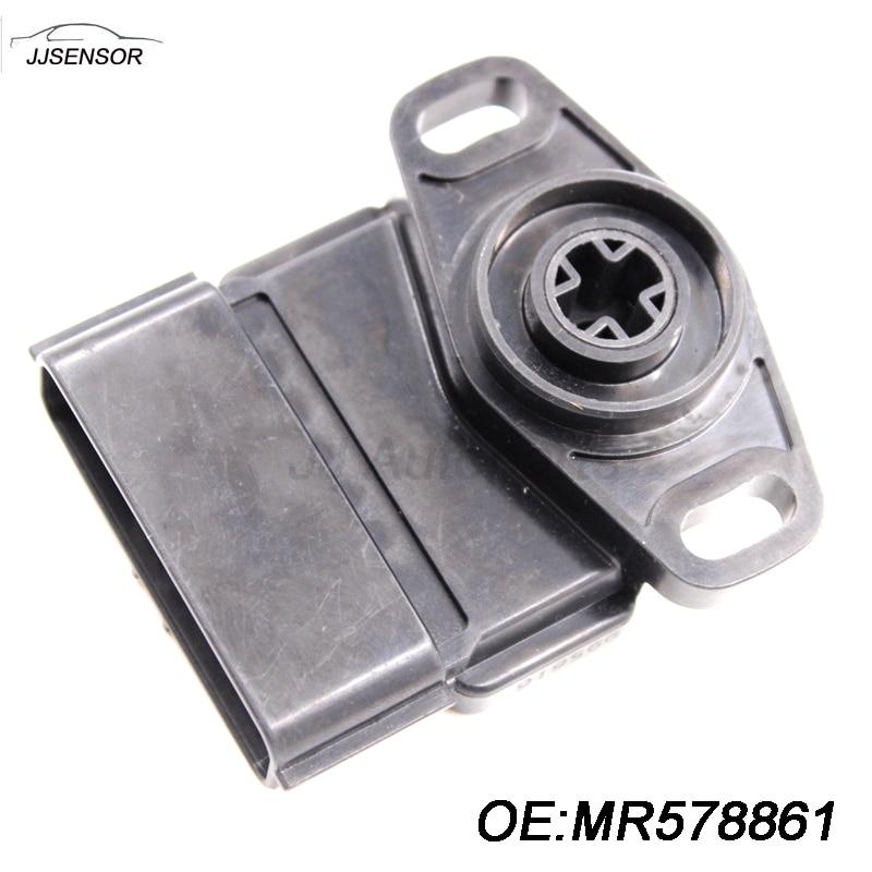 NEW Auto Parts TPS 8 Pins Sensor Throttle Position Sensor For Mitsubishi Outlander OEM MR578861