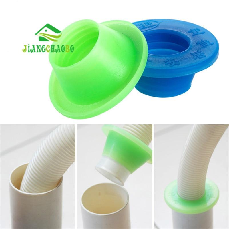2 шт./лот, дезодорант для канализационных труб, силиконовая насадка для кухонных труб, герметичная вилка для слива и слива канализационных т...
