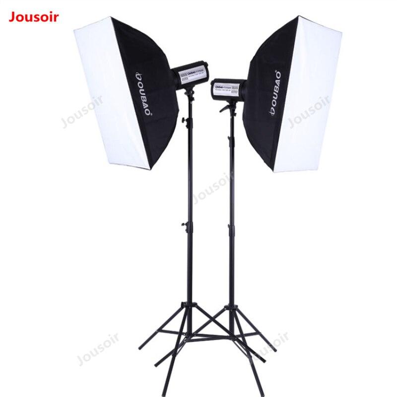 400 W due flash set lampada SoftBox supporto 2 Flash kit TTF400 doppio Luci Fotografia pacchetto di Illuminazione In Studio vestito CD50 t10400 W due flash set lampada SoftBox supporto 2 Flash kit TTF400 doppio Luci Fotografia pacchetto di Illuminazione In Studio vestito CD50 t10