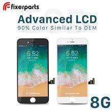 Fixerparts 1 個高度なため iphone 8 ディスプレイタッチスクリーンデジタイザー交換 pantalla iphone 8 液晶