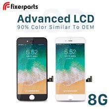 Piezas de fijación 1 Uds. Avanzado para iphone 8 Pantalla táctil digitalizador Pantalla de repuesto para iphone 8 lcd