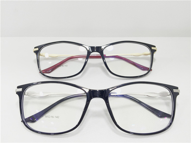 2015 Nuevo Patrón de Tendencia de La Moda Tr Gafas de Marco Masculina Señora Miopía Montura de gafas Miopía Óptica Gafas de propósito Especial