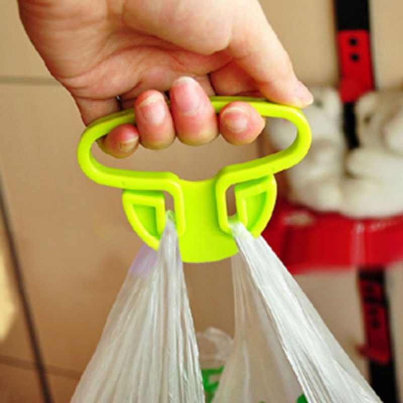 Creative Portable Shopping Bag Handle Household Plastic Bag Hook Kitchen Supplies
