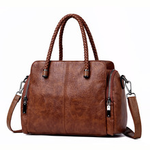 Новый два боковых кармана Повседневная сумка дизайнерские сумки высокого качества кожаные роскошные сумки через плечо для женщин 2018 Sac основной Femme