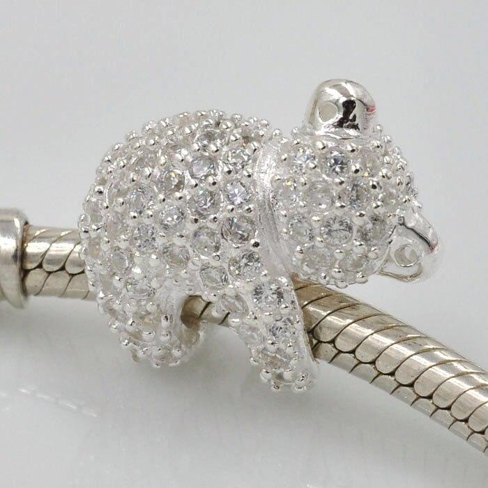 pandora koala charm silver