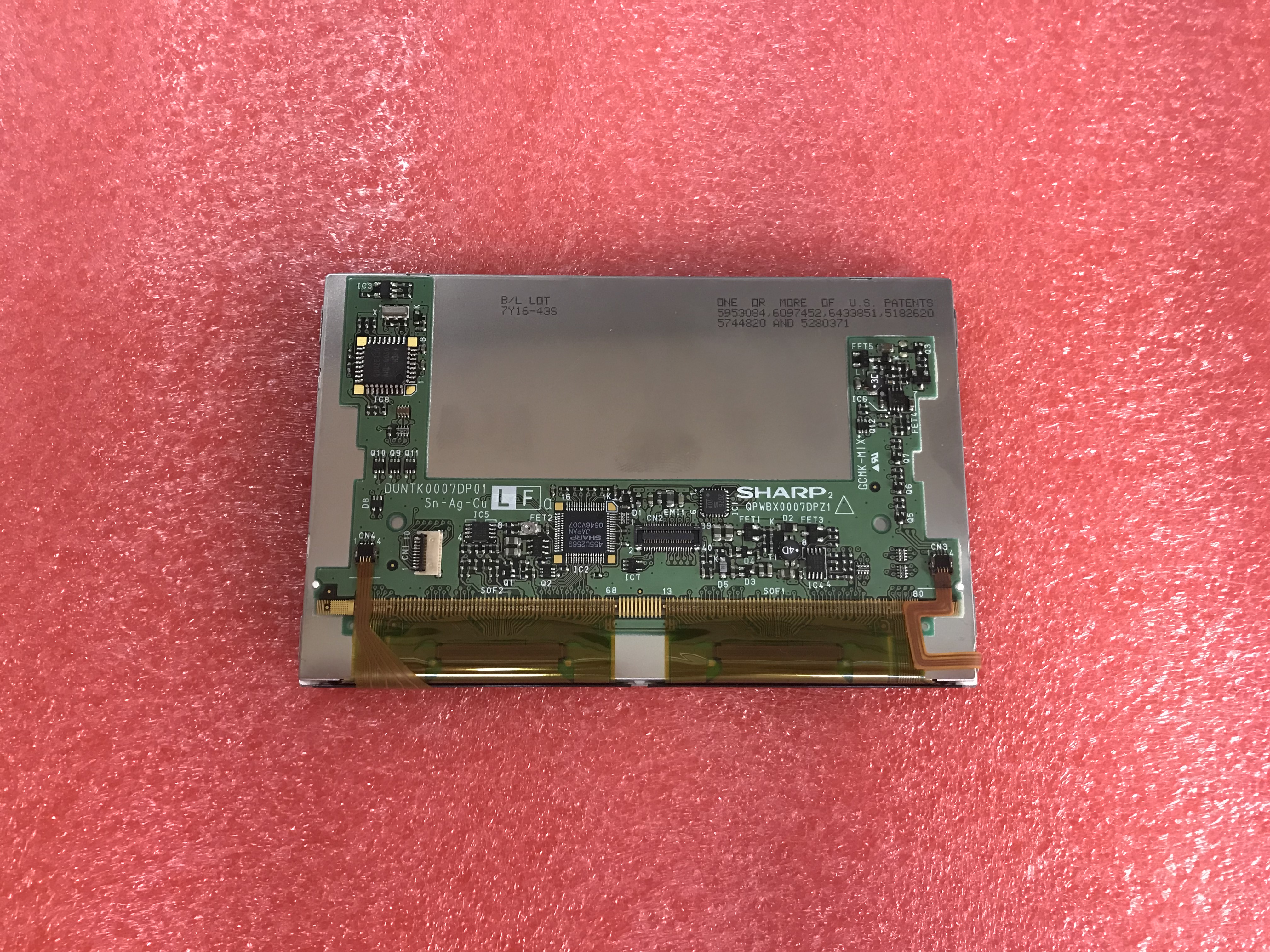 QPWBX0007DPZ1 LS045W1LA01 <font><b>4.5</b></font> <font><b>inch</b></font> industrial <font><b>LCD</b></font> <font><b>with</b></font> <font><b>touch</b></font> panel,new&original in stock image