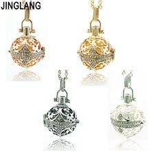 Jinglang модное ожерелье с ангелом Детские колокольчики музыкальные