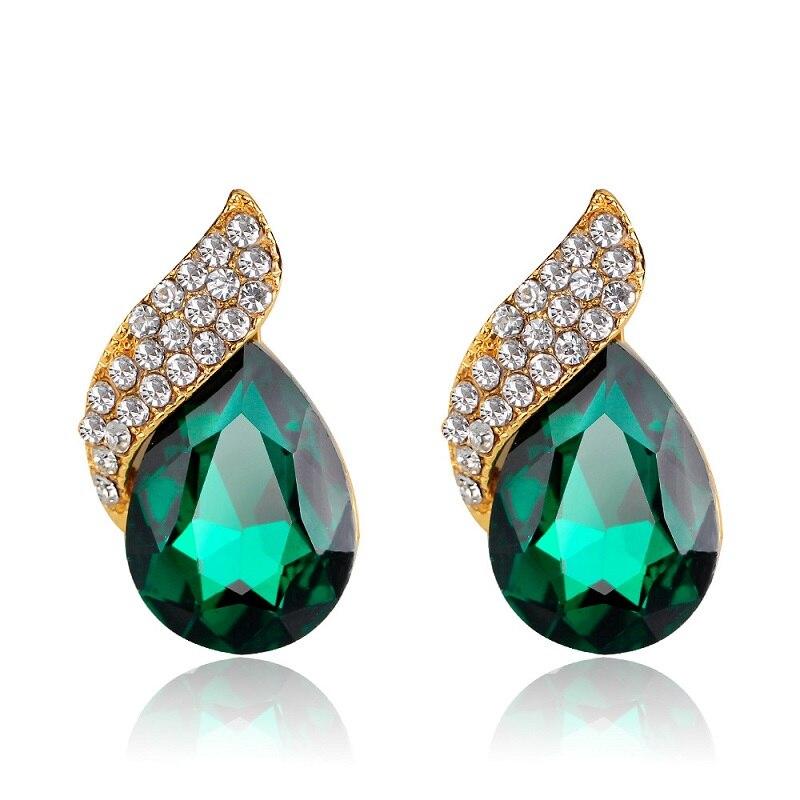 Fashion Creativity Water Drops Shape Crystal Design