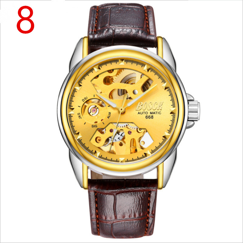 The elegant and luxurious mens business quartz watch shows a mature mans charm.  03The elegant and luxurious mens business quartz watch shows a mature mans charm.  03