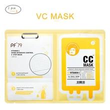 PF79 Vitamin C Face Mask Whitening Nourishing Skin Anti Aging Facial Care Mask