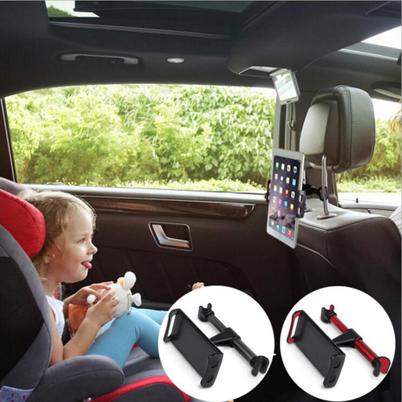 360 Degree Car Back Seat Headrest Mount Tablet Stand for IPad 2 3 4 Air Ipad Mini 1 2 3 4 11 Inch Tablet Holder for Smart Phone|Tablet Stands| |  - title=