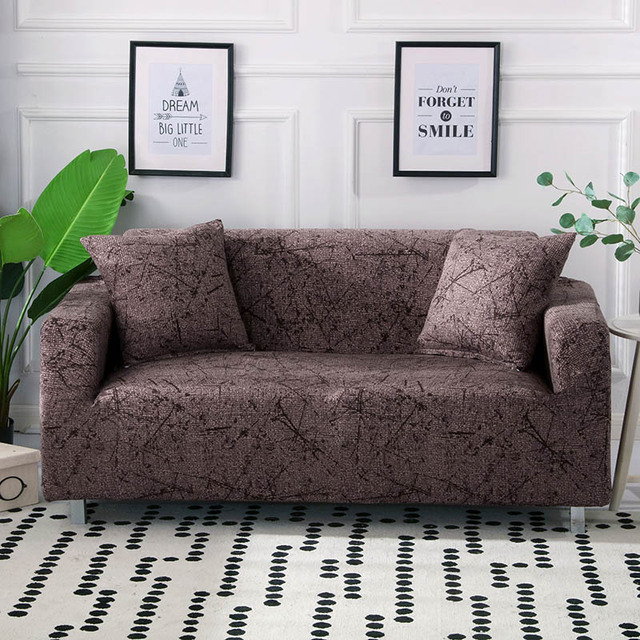 Elastic Sofa Cover Set Cotton Universal Sofa Covers for Living Room Pets Armchair Corner Couch Cover Corner Sofa Chaise Longue