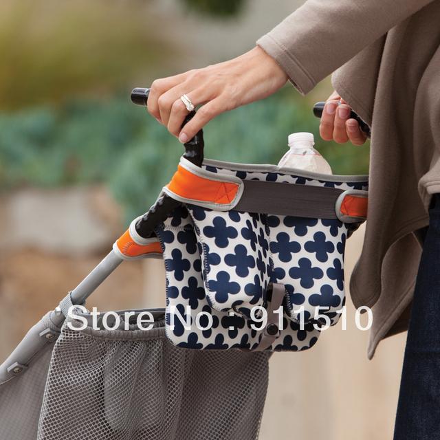 Baby Doll Stoller bolsa mamá / taza / niño / niños bolsa pezón bebé bolsos de la carretilla cochecito canasta de almacenamiento