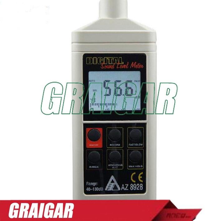 NEW AZ8928 Digital sound level meter digital noise meter precision digital decibel meter uyigao ua824 digital decibel sound level meter noise meter tester with max min hold 30dba 130dba range measurement