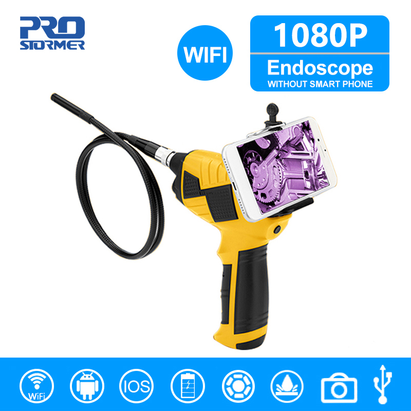 PROSTORMER 1080P Industrial Auto Repair Endoscope Camera WIFI Handheld Endoscope Android Handheld Inspection Camera Endoscopio