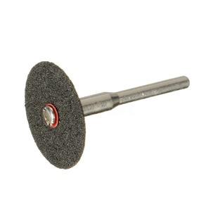 Image 5 - 36 יח\סט אוניברסלי 24mm מיני יהלום חיתוך דיסקים גלגל מקדח רוטרי תכשיטי כלי ערכת מנותק גלגל אקראי צבע