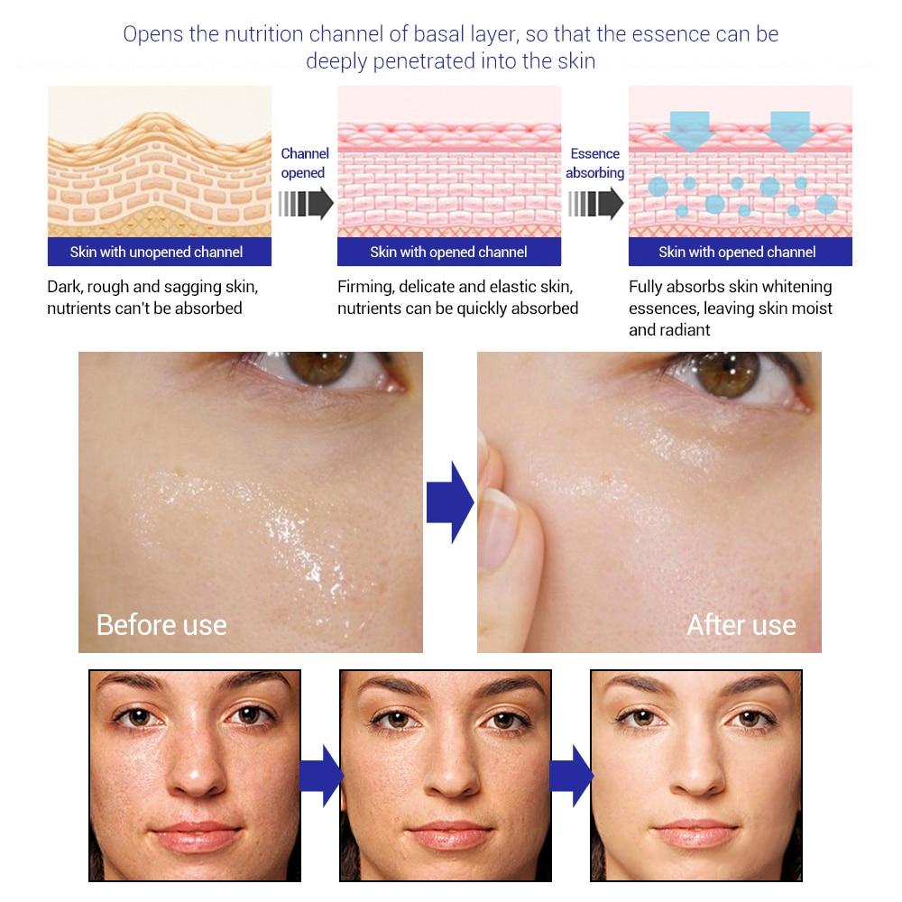 Bioaqua Blueberry Hyaluronic Serum Acid Liquid Skin Care Anti Wrinkle Collagen Essence Face Care Whitening Moisturizing Oil #3