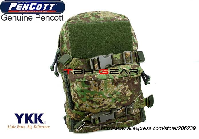 TMC Mini Hydration Water Bag MOLLE PenCott GreenZone JPC Hydration Pack+Free shipping(SKU12050219)