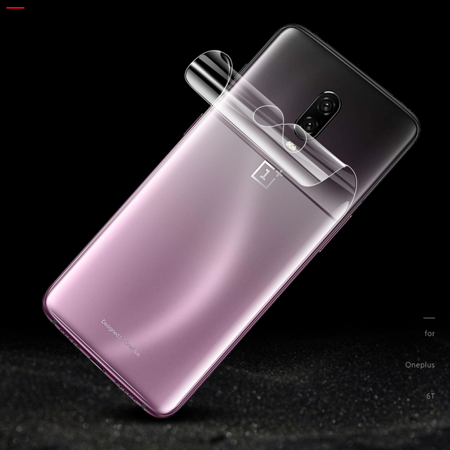 CHYI 3D Curved For Oneplus 7 pro 6T Screen Protector Nano Hydration Film Oneplus7 5t 6 3 Full Screen Cover Not Tempered Glass