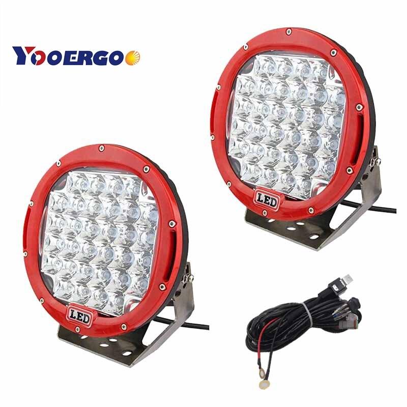 1 paire x 96 W ARB LED conduite phare lampe de travail pour hors route 4x4 Jeep Wrangler KIA Sorento SUV camions tracteur machine pelle