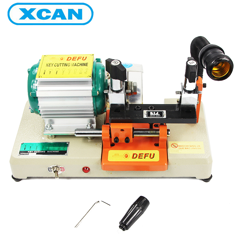 XCAN 238RS highly precision locksmith font b tools b font Varity Universal plug key cutting machine