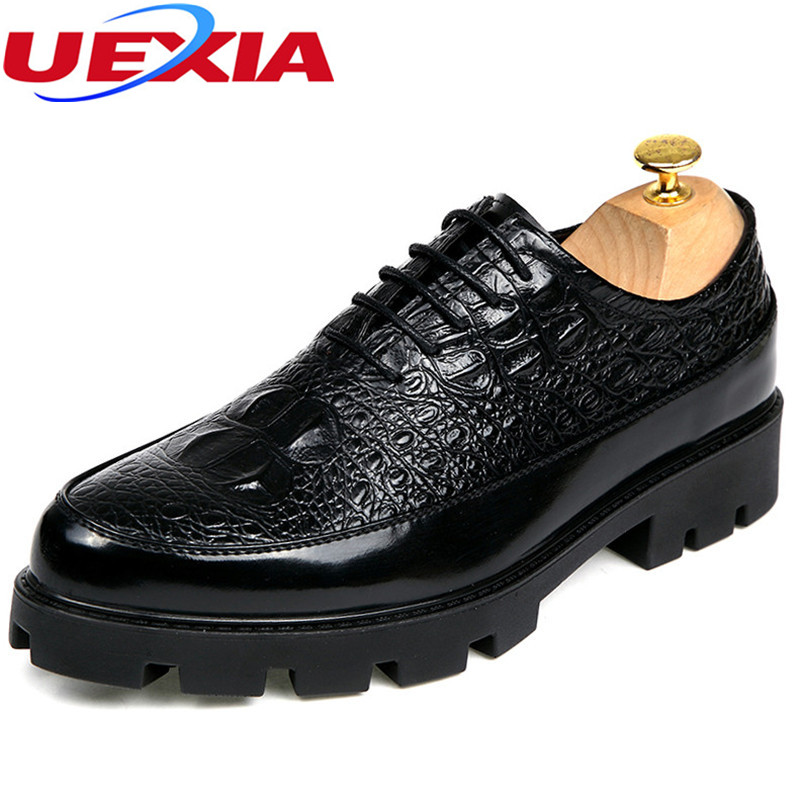 Polyurethane bottom Fashion Leather Mens Dress Shoes Business Brand Leather Men Shoes Casual Design Men Flats Oxfords Wedding