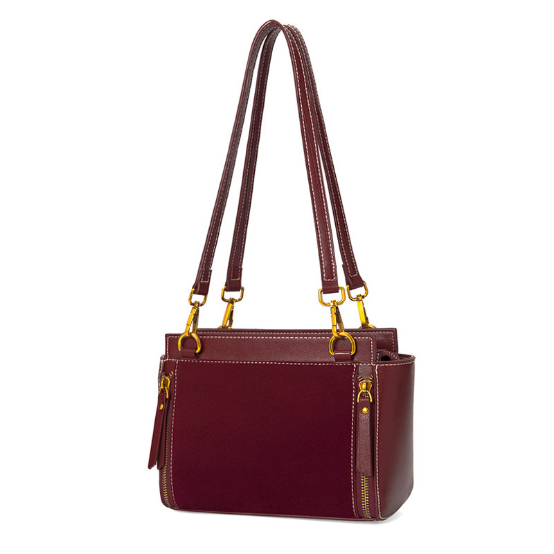 Luxury Womens Bag 2018 Autumn and Winter New Brand Fashion Retro Style Leather Shoulder Bag Simple Diagonal Bag High QualityLuxury Womens Bag 2018 Autumn and Winter New Brand Fashion Retro Style Leather Shoulder Bag Simple Diagonal Bag High Quality