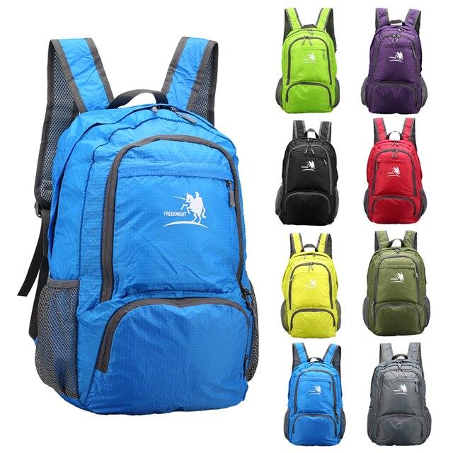 Gratis Knight 25L Packable Rugzak Handy Lichtgewicht Opvouwbare Camping Outdoor Reizen Wandelen Duurzaam Waterdicht Dagrugzak 8 Kleuren