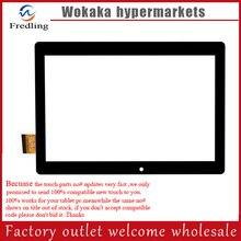 Negro blanco nuevo 10.1 pulgadas DP101226-F1 táctil tablet pc de pantalla táctil digitalizador del sensor de cristal de Reemplazo