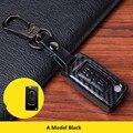 Чехол для автомобильного ключа из углеродного волокна  чехол для Peugeot 207 307 308 407 408 Citroen C3 C4 C4L C5 C6