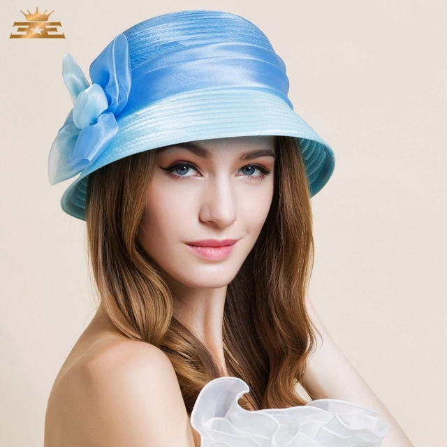 9f638dca4fb78 Women s Organza Headpiece-Wedding   Special Occasion Hats 1 Piece Head  circumference 57cm hat for