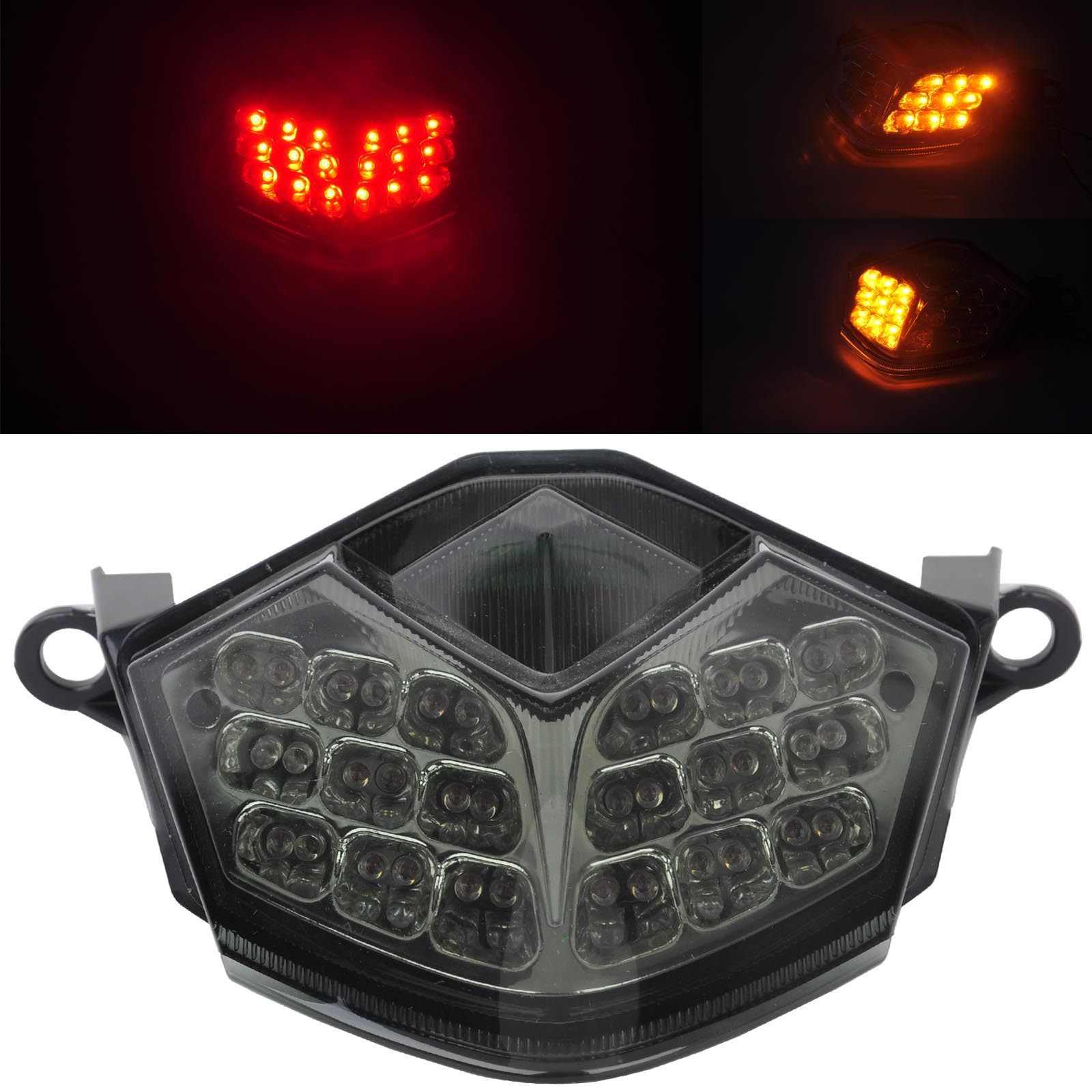 For Kawasaki 1pc 12V Motorcycle Stop Break Tail Light LED Turn Signal Lamp Support ZX-10R ZX-6R/636 Z750 Z1000 Mayitr origianl clevo 6 87 n350s 4d7 6 87 n350s 4d8 n350bat 6 n350bat 9 laptop battery