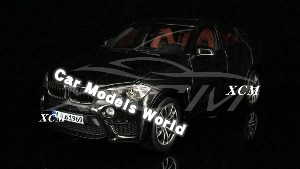 Diecast Car Model for X6M 1 18 Black SMALL GIFT